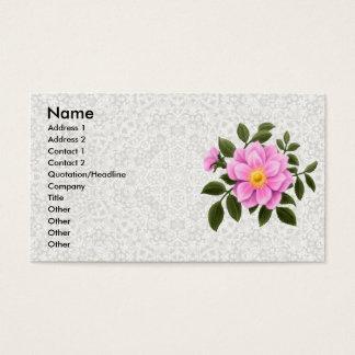 Wild Rose & Lace Profile Card