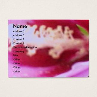 Wild Rose Petal Business Card