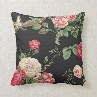 Wild Rose Reversible Pillow