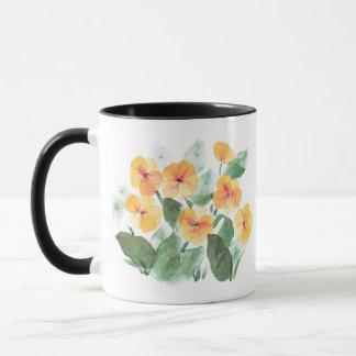 Wild Rose Yellow Mug