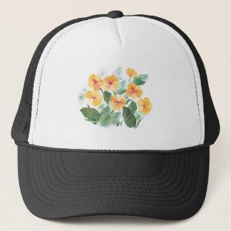 Wild Rose Yellow Trucker Hat