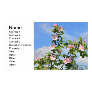 Wild Roses Business Card Template