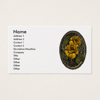 Wild Roses Business Cards