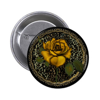 Wild Roses Button