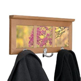Wild Roses Coat Rack