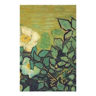 Wild Roses,  Vincent van Gogh. Stationery