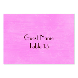 Wild Roses Vintage Wedding Table Number card Business Card Templates