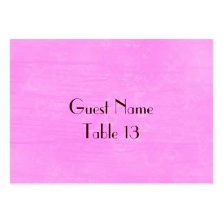 Wild Roses Vintage Wedding Table Number card Large Business Card