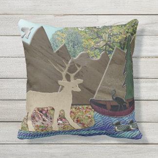 Animal Outdoor Pillows & Cushions Zazzle