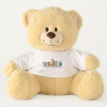 Wild Safari Animals, Crazy Animal Large Teddy Bear