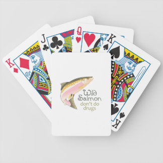 WILD SALMON BICYCLE PLAYING CARDS