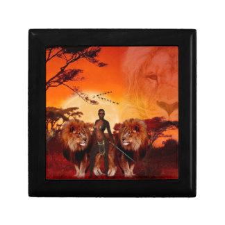 Wild Savanna Jewelry Box