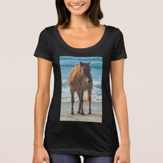 Wild sea horse of Assateague t-shirt