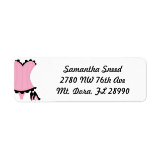 Wild & Sexy Bachelorette Party Address Labels