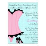 """Wild & Sexy Bridal Shower Invitation 4.5"""" X 6.25"""" Invitation Card"""