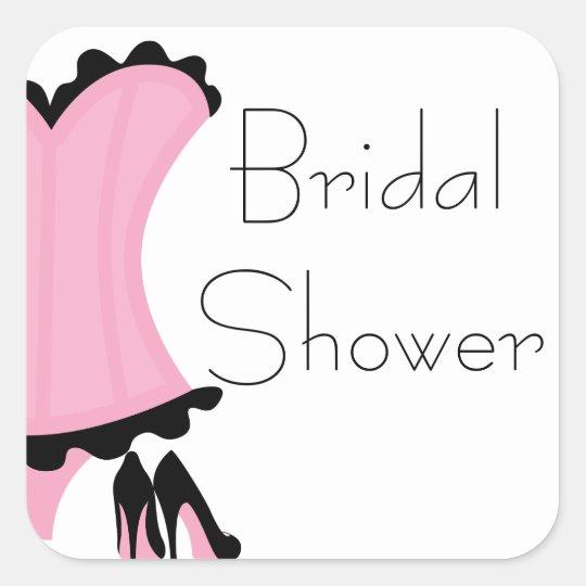 wild sexy bridal shower stickers