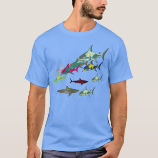wild sharks, danger T-Shirt