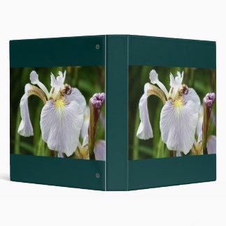 Wild SIberian Iris 3 Ring Binder