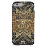 Wild Side Elegant Monogram Tough iPhone 6 Case