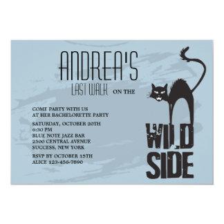 Wild Side Invitation