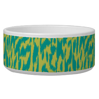 Wild Side-Teal & Chartreuse Bowl