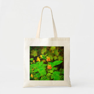 Wild Snapdragons Tote Bag