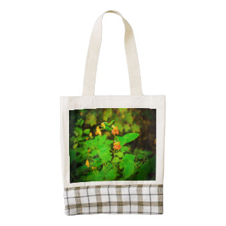Wild Snapdragons Zazzle HEART Tote Bag