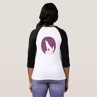 Wild Soul Outfitters Howling Moon Baseball Tee