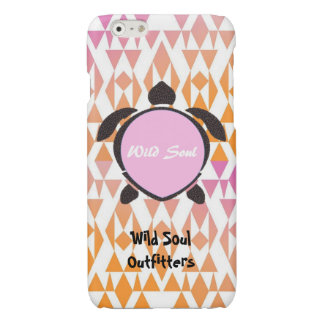 Wild Soul Outfitters (Pink) Turtle iPhone 6/6sCase Glossy iPhone 6 Case