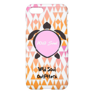 Wild Soul Outfitters (Pink) Turtle iPhone 7/6sCase iPhone 7 Case