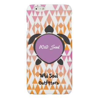 Wild Soul Outfitters (Purple)Turtle iPhone6/6sCase Glossy iPhone 6 Case