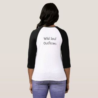 Wild Soul Outfitters Women's Turtle Baseball Tee