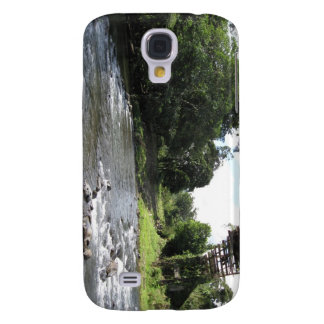 Wild South America - Vintage Bridge n River Galaxy S4 Case