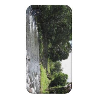 Wild South America - Vintage Bridge n River iPhone 4/4S Cover