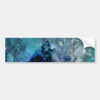 Wild Spirit Bumper Sticker