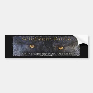 WILD SPIRIT GIFTS GREY WOLF Bumper Sticker