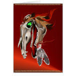 Wild Spirit Horse Card