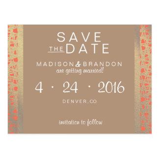 Wild Spirit Save the Date Postcard