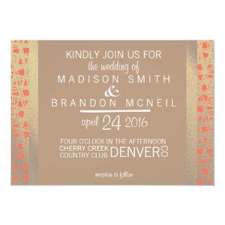 Wild Spirit Wedding Invitation