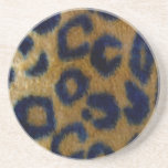 Wild Spotted Leopard Print Coaster