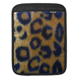 Wild Spotted Leopard Print iPad Sleeves