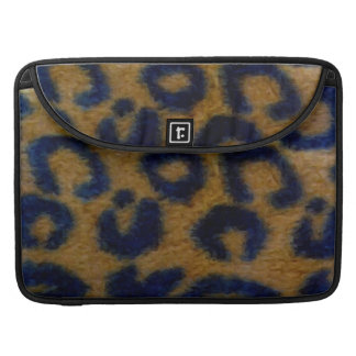 Wild Spotted Leopard Print MacBook Pro Sleeve