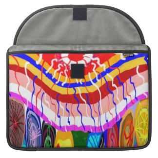 Wild Spring Sparkle Wave MacBook Pro Sleeve