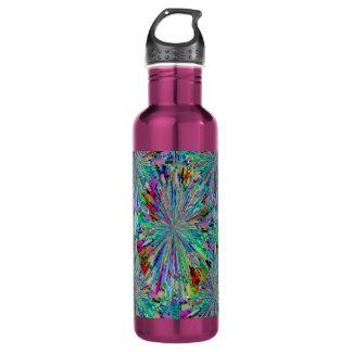 Wild Spring Sparkle Wave 24oz Water Bottle