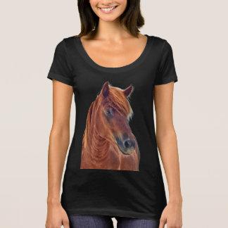 Wild stallion of Assateague t-shirt