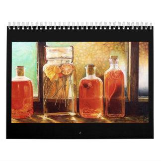 Wild & Still Life Art Calendar
