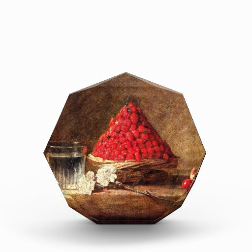 Wild Strawberries by Jean Simeon Chardin Acrylic Award