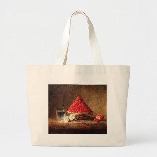 Wild Strawberries by Jean Simeon Chardin Canvas Bags
