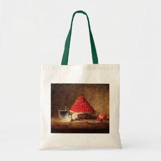 Wild Strawberries by Jean Simeon Chardin Tote Bags