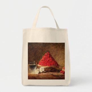 Wild Strawberries by Jean Simeon Chardin Bag